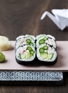 Can all vegetables be used for sushi?