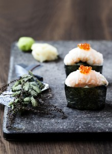 How healthy is seaweed for sushi?