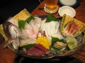 What is sashimi?