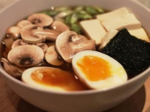 Japanese noodle soup ideal for unstable weather!