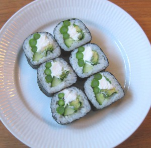 Is there any vegetarian sushi in Japan?