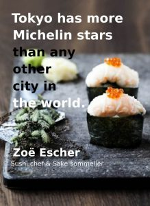 Michelin stars in Tokyo!