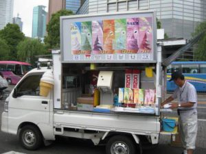 Japanese soft ice cream