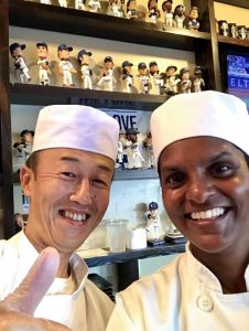 The reason why you training as a Japanese sushi chef never stops
