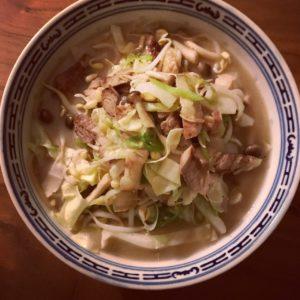 Recipe: Champon noodle soup