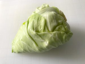 How often do the Japanese eat cabbage?